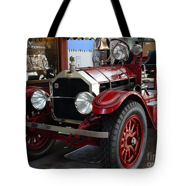 1917 American La France Type 12 Fire Engine Tote Bag by Wingsdomain Art and Photography