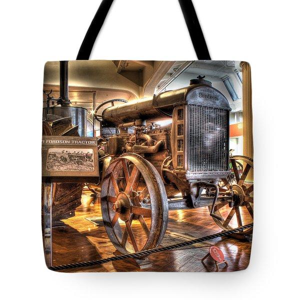 1917 Model 1 Fordson Tractor Dearborn Mi Tote Bag by Nicholas  Grunas
