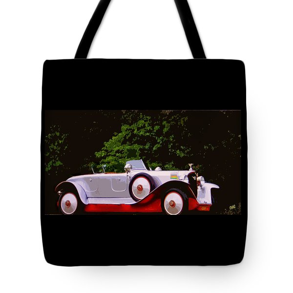 1921 Farman A6b Super Sport Torpedo Tote Bag