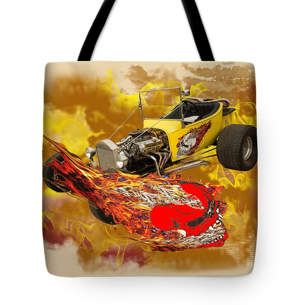 1923 Ford T-bucket Vintage Classic Car Photograph 5693.02 Tote Bag