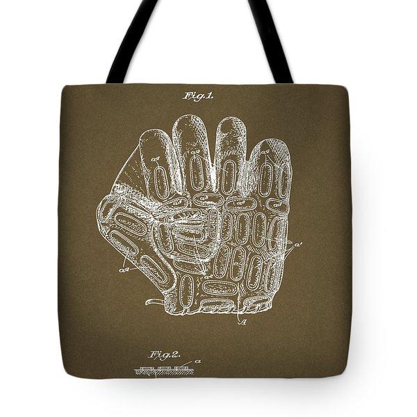 1924 Baseball Glove Tote Bag