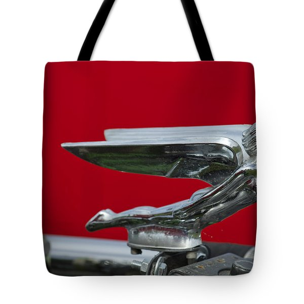 1924 Ford Hood Ornament Tote Bag by Jill Reger