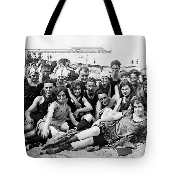 1925 Beach Party Tote Bag