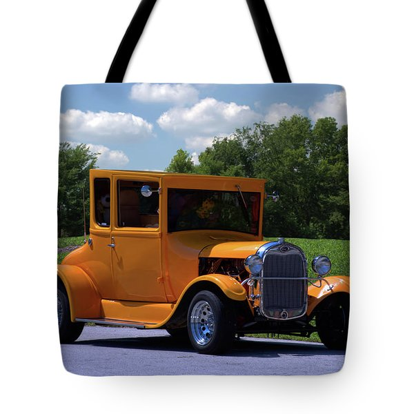 1926 Ford Hot Top T Hot Rod Tote Bag by Tim McCullough