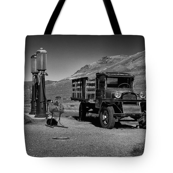 1927 Dodge Graham B And W Tote Bag