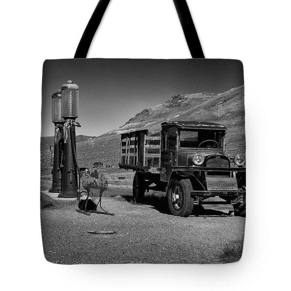 1927 Dodge Graham B And W Tote Bag