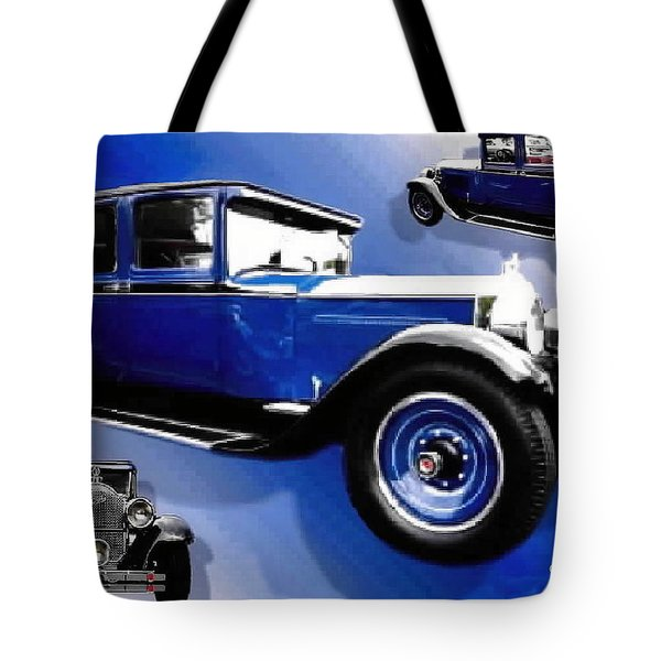 1927 Packard 526 Sedan Tote Bag by Sadie Reneau
