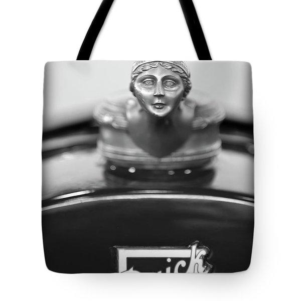 1928 Buick Custom Speedster Hood Ornament 4 Tote Bag by Jill Reger