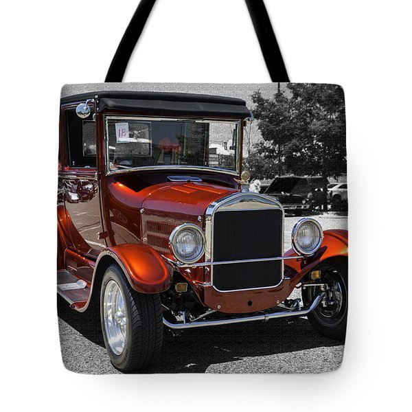 1928 Ford Coupe Hot Rod Tote Bag