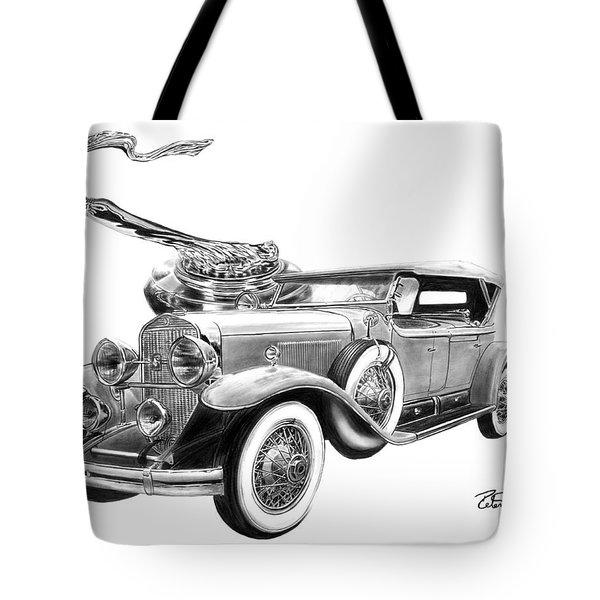 1929 Cadillac  Tote Bag