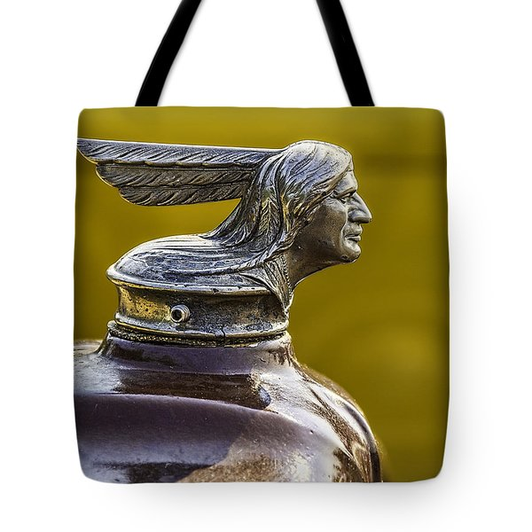 1929 Pontiac Hood Ornament Tote Bag