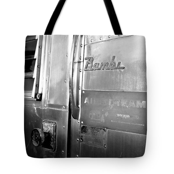 1930 Bambi Travel Trailer Tote Bag by David Lee Thompson