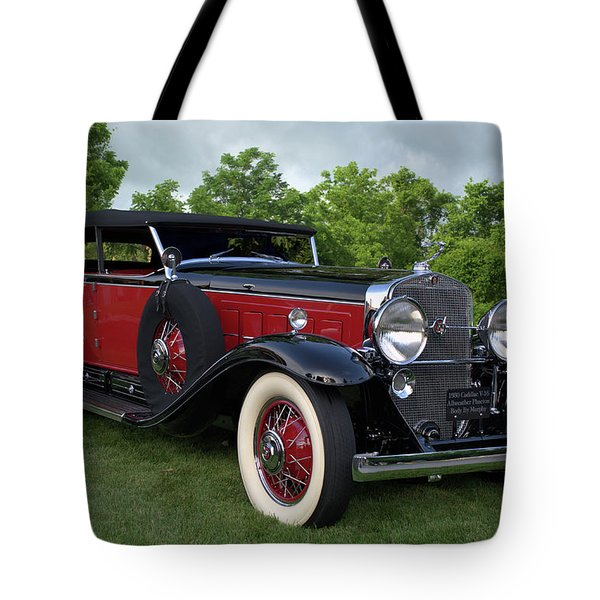 1930 Cadillac V16 Allweather Phaeton Tote Bag by Tim McCullough