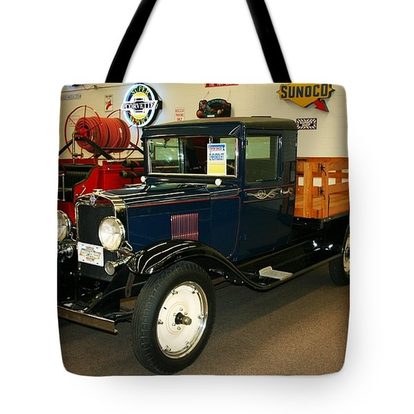 1930 Chevrolet Stake Bed Truck Tote Bag