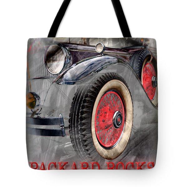 1930 Packard Tote Bag