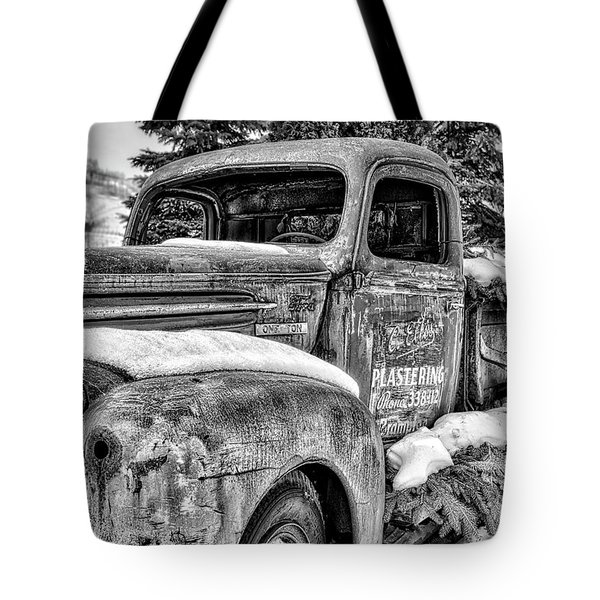 1930's Ford One Ton Tote Bag by Irwin Seidman