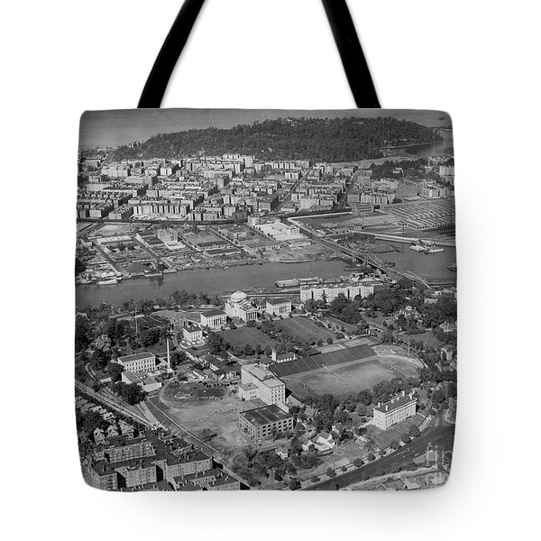 1930's Northern Manhattan Aerial  Tote Bag