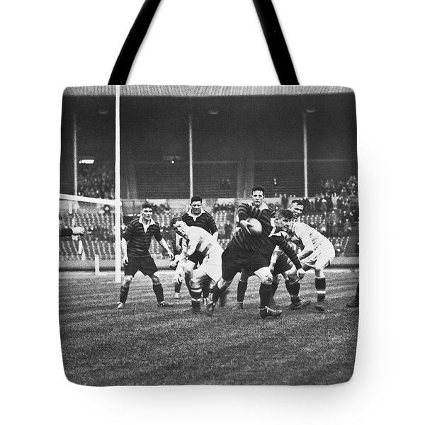 1931 Challenge Cup At Wembley Tote Bag