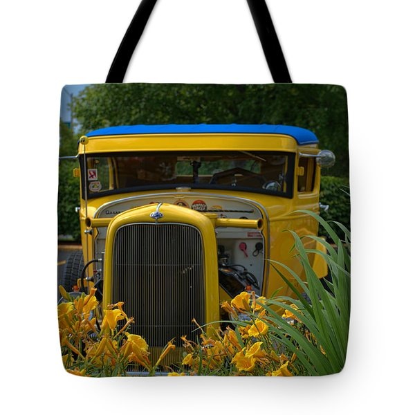 1931 Ford Sedan Hot Rod Tote Bag by Tim McCullough