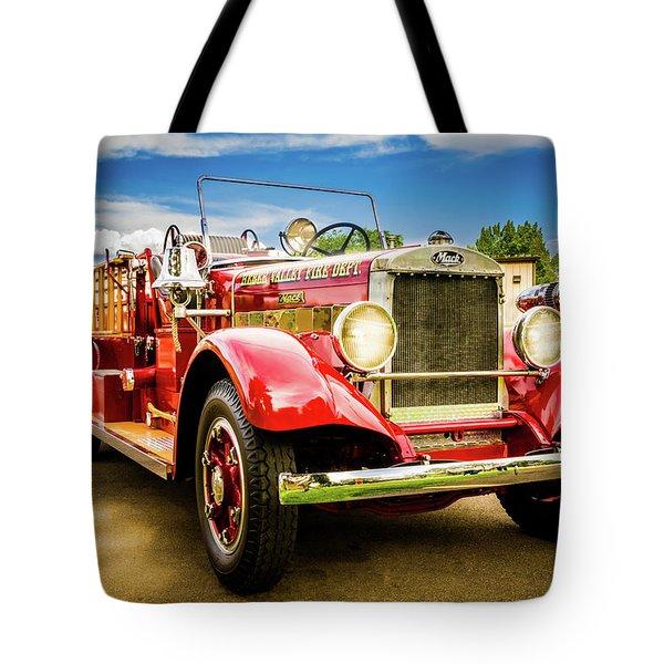 1931 Mack - Heber Valley Fire Dept. Tote Bag