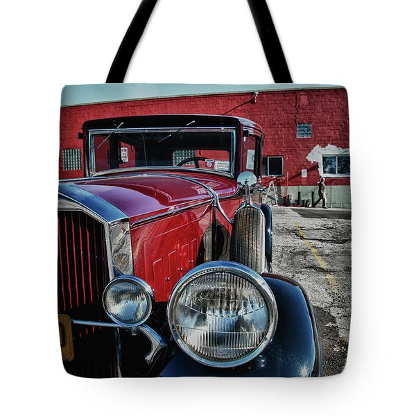 1931 Pierce Arow 3473 Tote Bag by Guy Whiteley