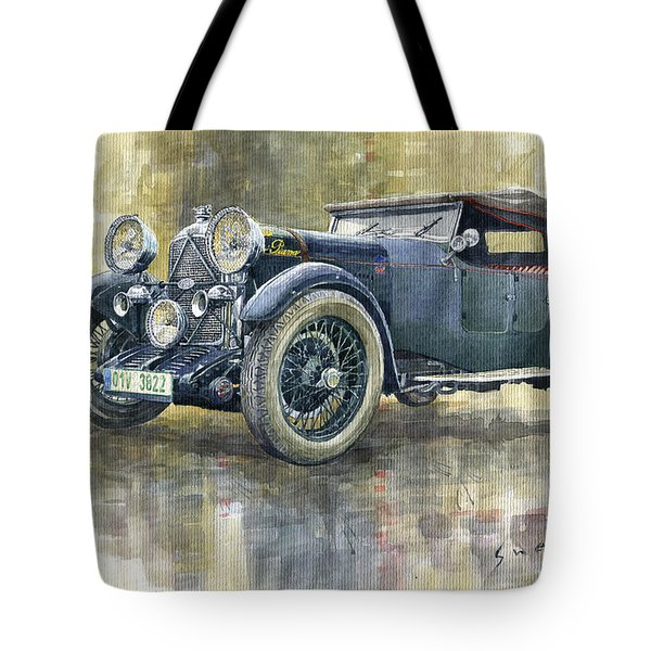 1932 Lagonda Low Chassis 2 Litre Supercharged Front Tote Bag