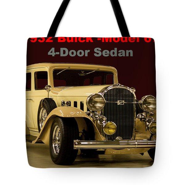 1932 Buick 4door Sedan Tote Bag
