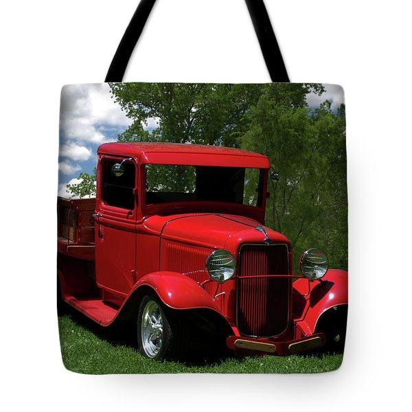 1932 Ford Flatbed Pickup Tote Bag