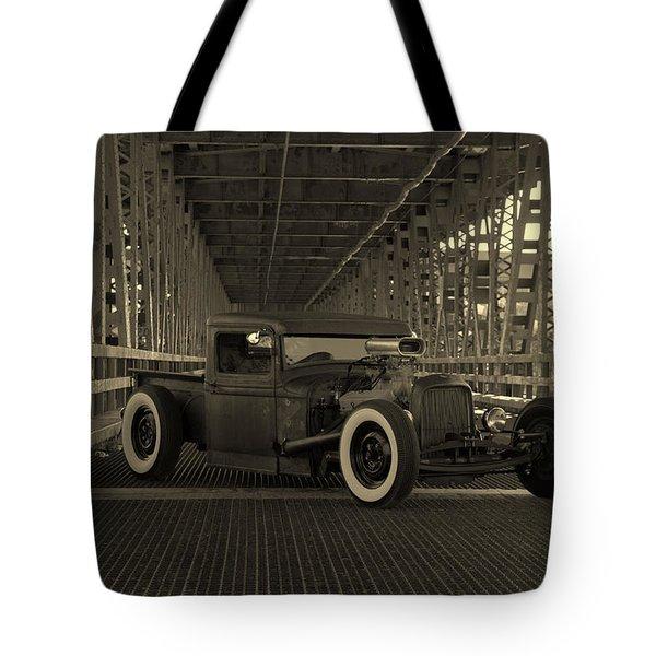 1932 Ford Pickup Rat Rod Tote Bag
