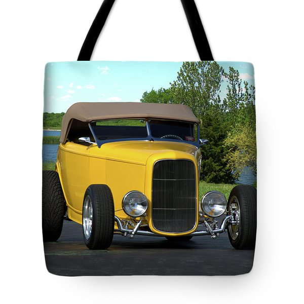 1932 Ford Roadster Tote Bag by Tim McCullough