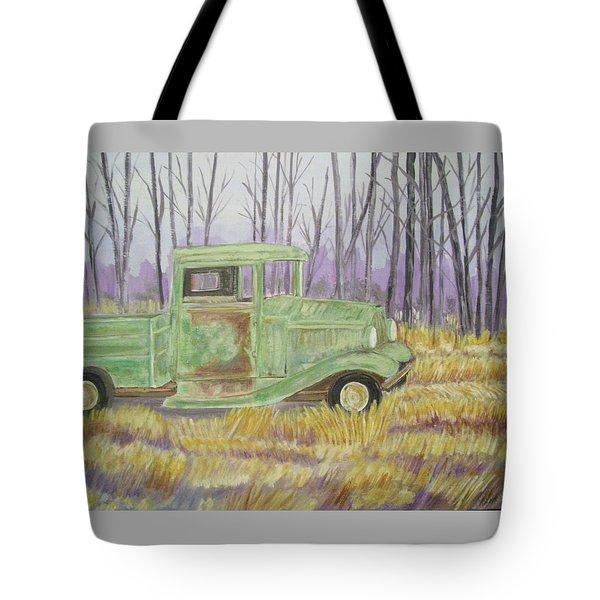 1932  Greenford Pickup Truck Tote Bag