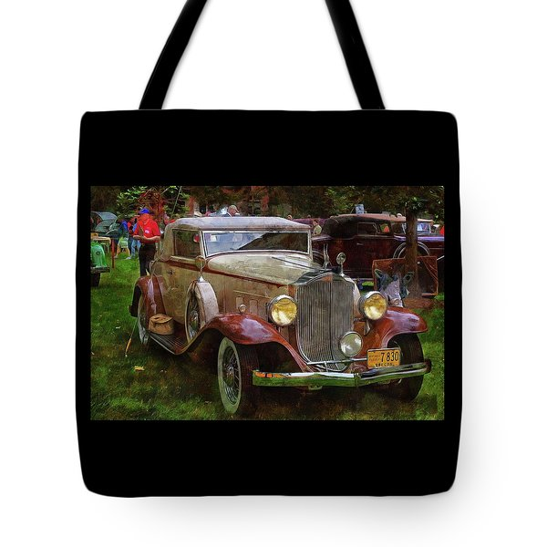 1932 Packard 900 Tote Bag