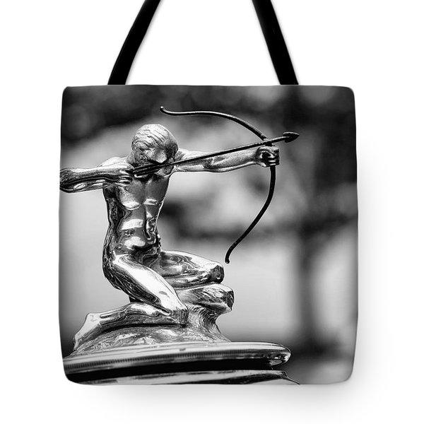 1932 Pierce Arrow Hood Ornament Tote Bag by Gordon Dean II