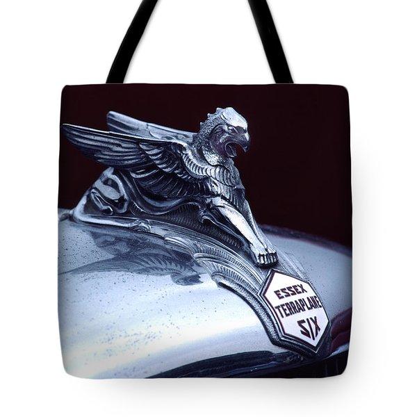 1933 Hudson Essex Terraplane Griffin Hood Ornament Tote Bag