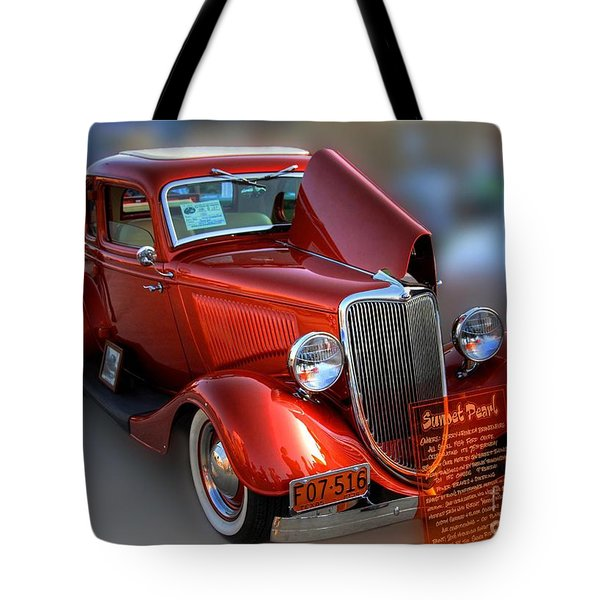 1934 Ford Coupe Tote Bag