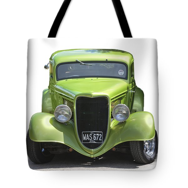 1934 Ford Street Hot Rod On A Transparent Background Tote Bag