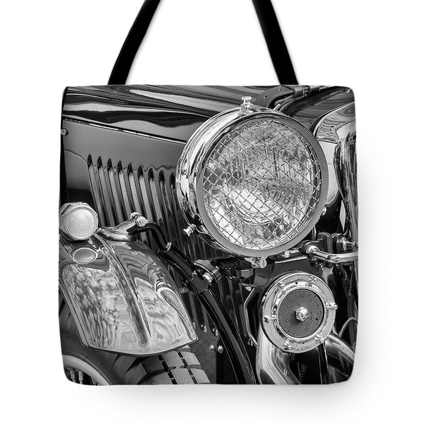Tote Bag featuring the photograph 1934 Mg Pa Roadster by Dennis Hedberg
