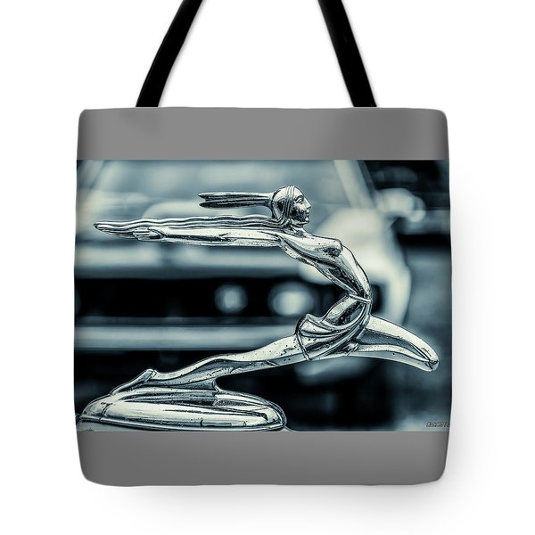1934 Pontiac Hood Ornament Tote Bag