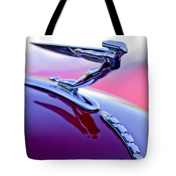 1935 Auburn Hood Ornament 4 Tote Bag by Jill Reger