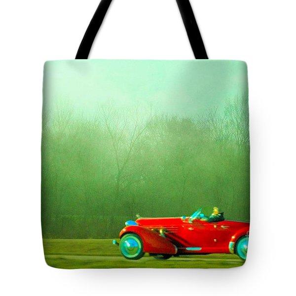1936 Auburn Speedster Tote Bag