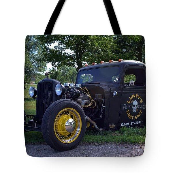 1936 Chevrolet Pickup Rat Rod Tote Bag