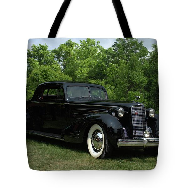 1937 Cadillac V16 Fleetwood Stationary Coupe Tote Bag by Tim McCullough