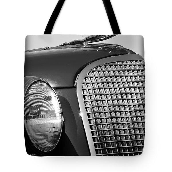 1937 Cadillac V8 Hood Ornament 3 Tote Bag by Jill Reger