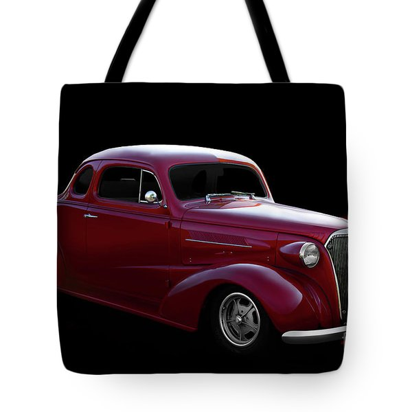 1937 Chevrolet Busines Coupe Tote Bag