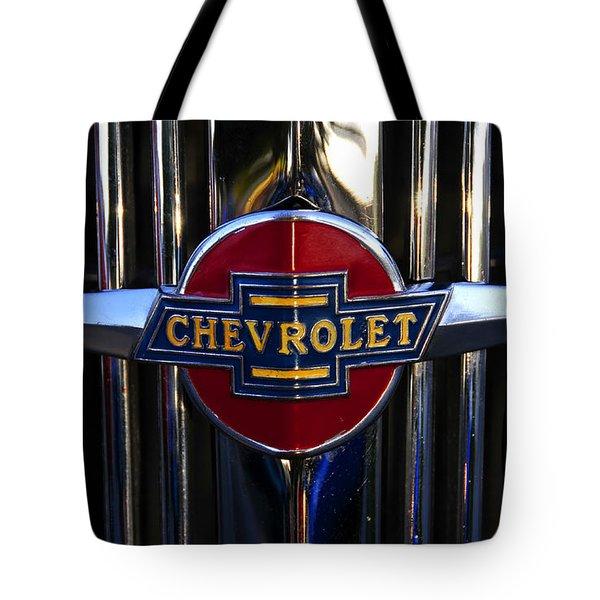 1937 Chevy Star Tote Bag by David Lee Thompson