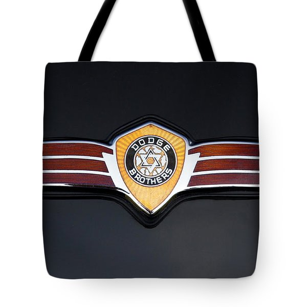 1937 Dodge Brothers Emblem Tote Bag