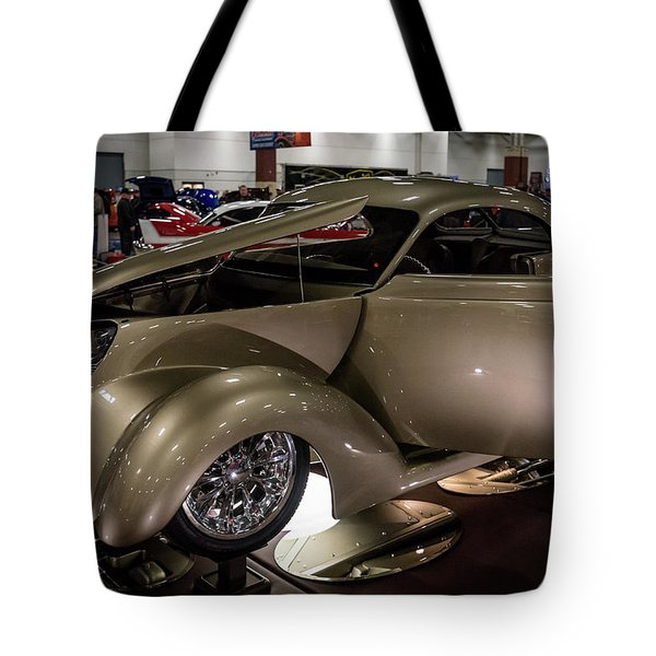Tote Bag featuring the photograph 1937 Ford Coupe by Randy Scherkenbach