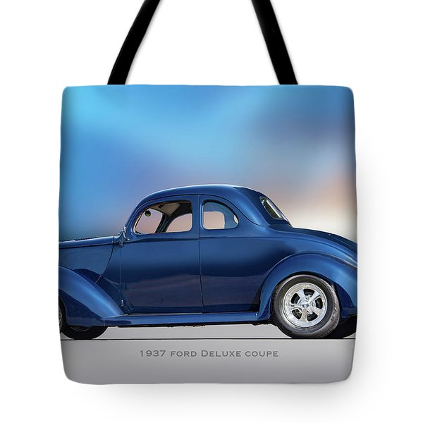 1937 Ford Deluxe Coupe II Tote Bag