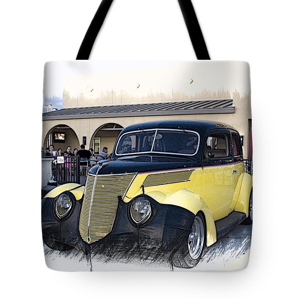 1937 Ford Deluxe Sedan_a2 Tote Bag