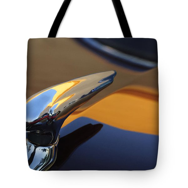 1937 Ford Hood Ornament 3 Tote Bag by Jill Reger